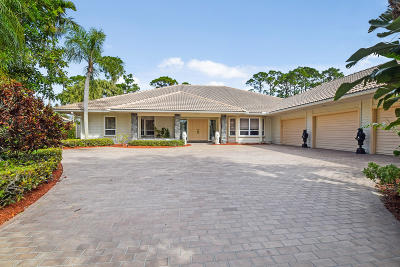 Palm Beach Gardens Single Family Home For Sale: 20 Rabbits Run
