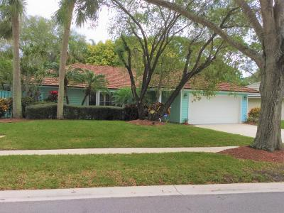 Jupiter Single Family Home Contingent: 6793 Viewpoint Court