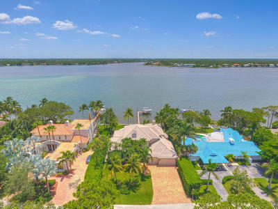 Tequesta Single Family Home For Sale: 21 Bay Harbor Road
