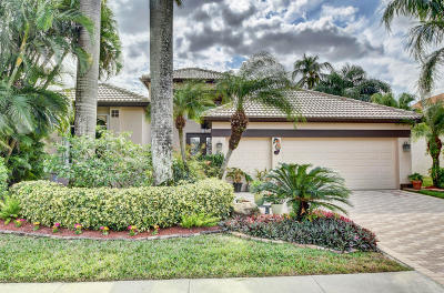 Boynton Beach Single Family Home For Sale: 11637 Privado Way