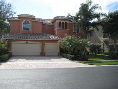 Boynton Beach Single Family Home For Sale: 9820 Coronado Lake Drive