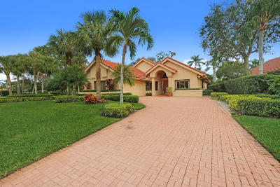 Palm Beach Gardens FL Single Family Home For Sale: $1,025,000