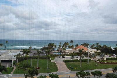 Highland Beach Condo For Sale: 3400 S Ocean Boulevard #7g