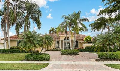 West Palm Beach Single Family Home For Sale: 10802 Egret Pointe Lane
