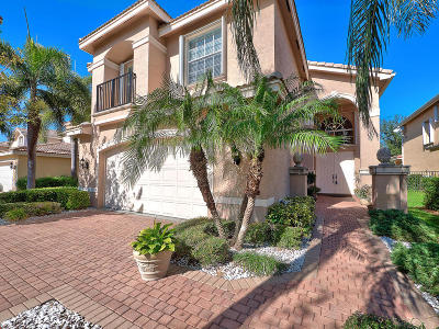 Boynton Beach Single Family Home For Sale: 8909 Morgan Landing Way
