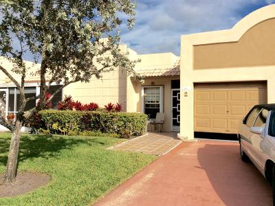 Boca Raton Single Family Home For Sale: 9065 Flynn Circle #2