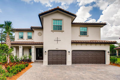 Coconut Creek Single Family Home For Sale: 4612 Saxon Road