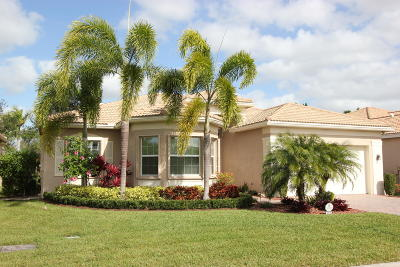 Boynton Beach Single Family Home For Sale: 9825 Bluefield Drive