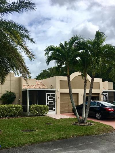 Boca Raton Single Family Home For Sale: 18880 Jolson Avenue #2