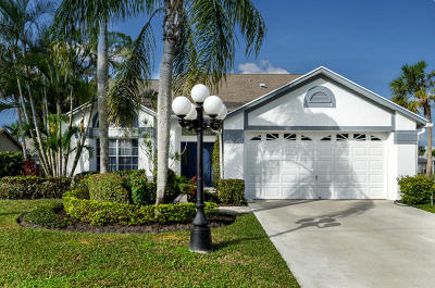 Lake Worth Single Family Home Contingent: 3798 Woods Walk Boulevard