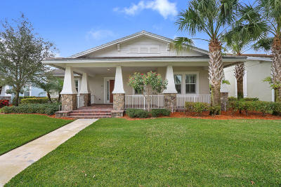 Jupiter Single Family Home Contingent: 2686 W Mallory Boulevard