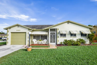 Boca Raton Single Family Home For Sale: 9063 SW 7th Street