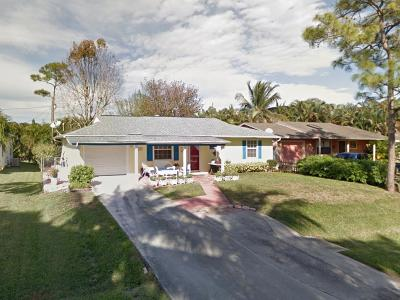 Stuart Single Family Home For Sale: 3795 SE Middle Street