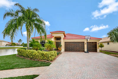 Royal Palm Beach Single Family Home For Sale: 227 Bella Vista Way