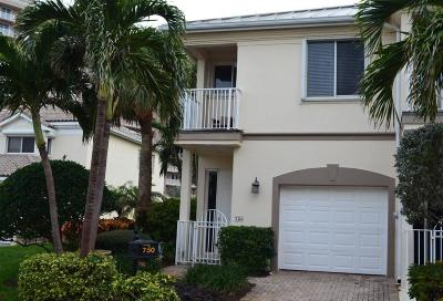 Juno Beach Townhouse For Sale: 750 Seaview Drive
