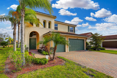 Royal Palm Beach Single Family Home For Sale: 2431 Bellarosa Circle