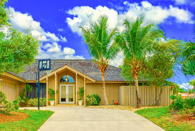 Tequesta Single Family Home Contingent: 79 Hickory Hill Road
