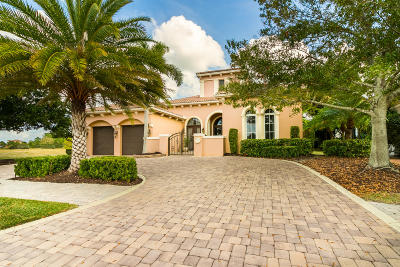 Port Saint Lucie Single Family Home For Sale: 229 SE Bella Strano