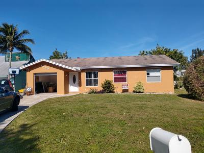 Boynton Beach Single Family Home For Sale: 3655 Quentin Avenue
