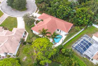 Jupiter Single Family Home For Sale: 4601 Windswept Pines Court