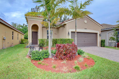 Lake Worth Single Family Home For Sale: 7889 Patriot Street