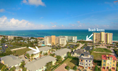 Juno Beach Townhouse For Sale: 460 Ocean Ridge Way