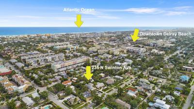 Delray Beach Single Family Home For Sale: 235 Swinton Avenue