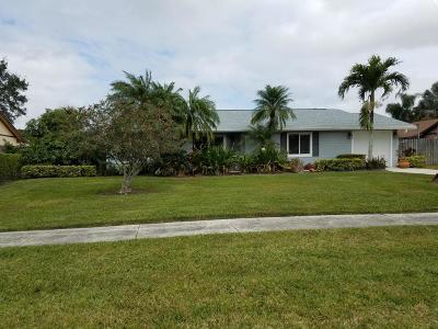 Royal Palm Beach Single Family Home Contingent: 361 La Mancha Avenue