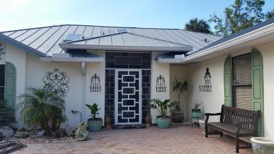 Fort Pierce Single Family Home For Sale: 5191 Palmetto Avenue
