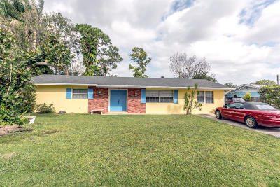 Palm City Single Family Home Contingent: 1021 SW 37th Terrace