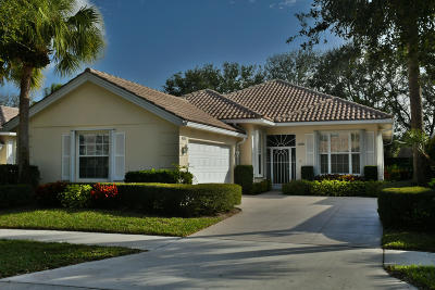 Palm Beach Gardens Single Family Home For Sale: 409 Kelsey Park Drive