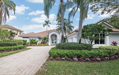 Palm Beach Gardens Single Family Home For Sale: 44 James Drive