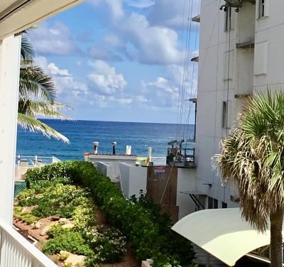 Palm Beach Condo For Sale: 3590 S Ocean Boulevard #309
