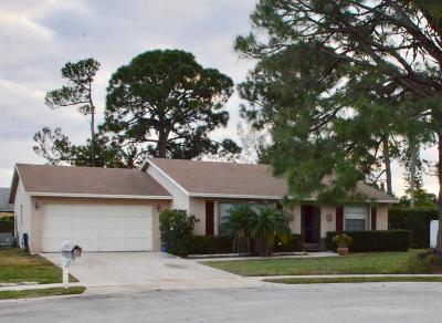 Greenacres FL Single Family Home Contingent: $269,000