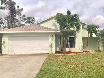 Port Saint Lucie FL Single Family Home Closed: $225,000