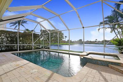 Jupiter Single Family Home For Sale: 1073 Lakeshore Drive