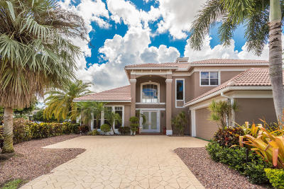 Palm Beach Gardens Single Family Home For Sale: 125 Pembroke Drive
