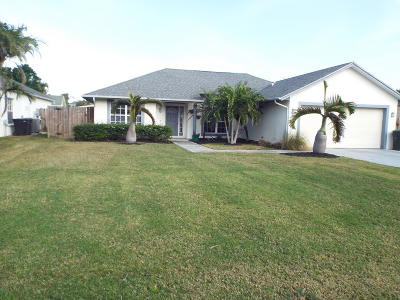 Fort Pierce Single Family Home For Sale: 1120 Granada Street
