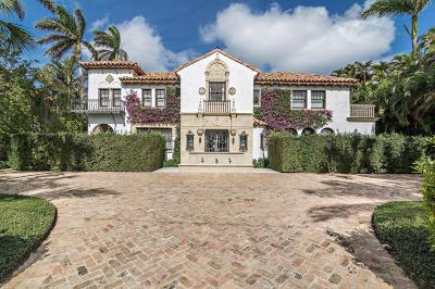 Palm Beach Single Family Home For Sale: 255 Clarke Avenue