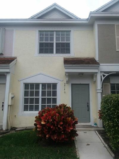 Margate Townhouse For Sale: 5518 Parade Place #27