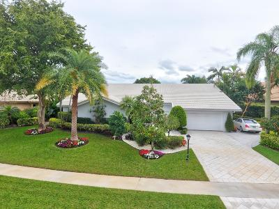 Delray Beach Single Family Home For Sale: 4722 Tree Fern Drive