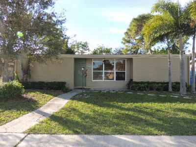Royal Palm Beach Single Family Home Contingent: 11812 Balsam Drive