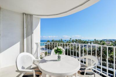 Palm Beach Condo For Sale: 2295 S Ocean Boulevard #705