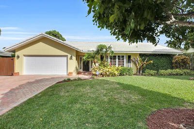 Boca Raton Single Family Home For Sale: 1031 NW 6th Street