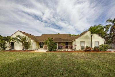 Jensen Beach Single Family Home For Sale: 741 NE Town Terrace