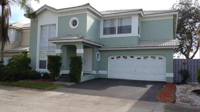 Coconut Creek Single Family Home For Sale: 5370 NW 41st Way NW