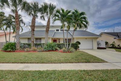 Boca Raton Single Family Home Contingent: 340 Apache Lane