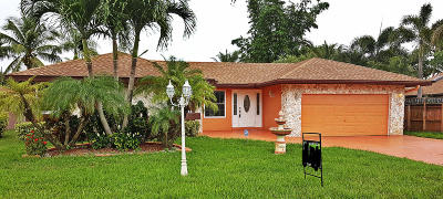 Coral Springs Single Family Home For Sale: 11219 NW 43 Court