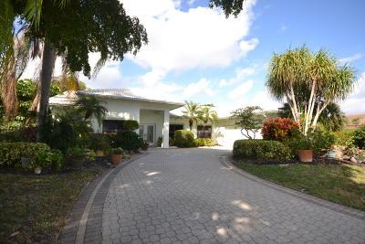 Boca Raton Single Family Home For Sale: 11433 Boca Woods Lane