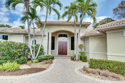 Palm Beach Gardens Single Family Home For Sale: 111 Windsor Pointe Drive